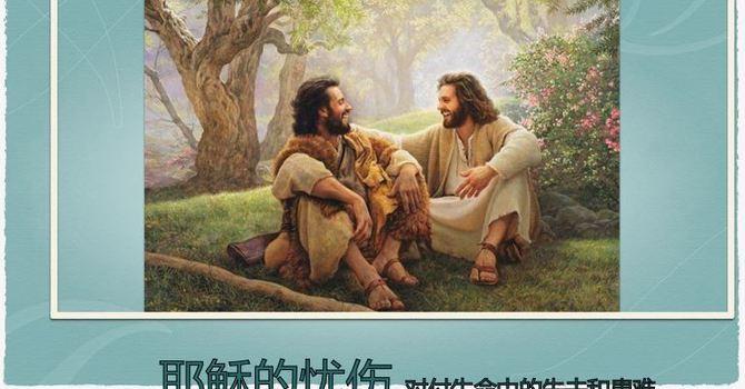 耶稣的忧伤——  处理生命中失去近亲和遭遇的患难