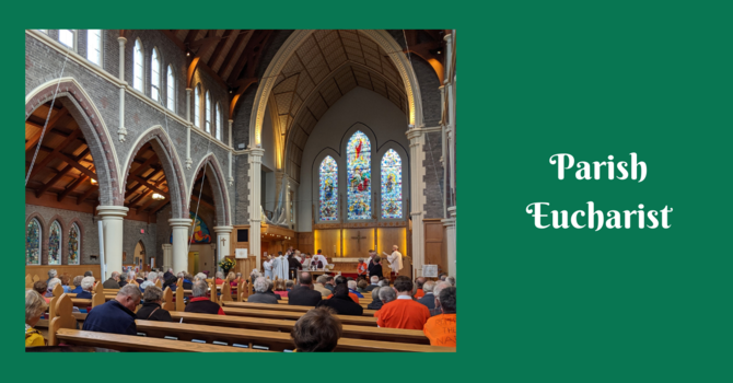 Parish Eucharist - January 24, 2021 image