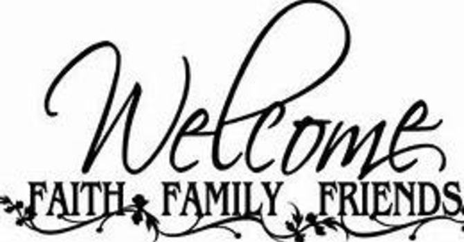WELCOME - WE ARE GLAD YOU ARE HERE!