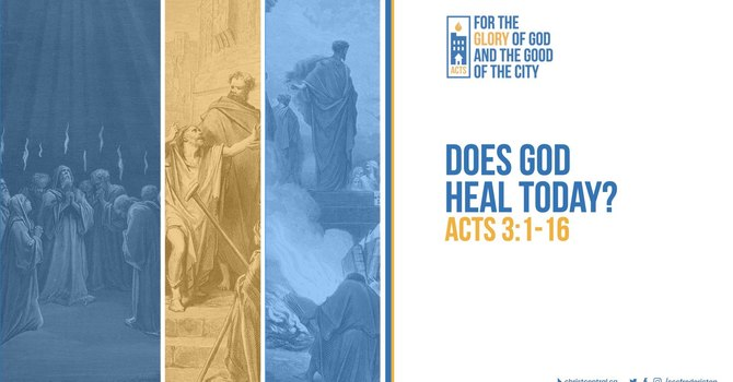 Does God Heal Today?