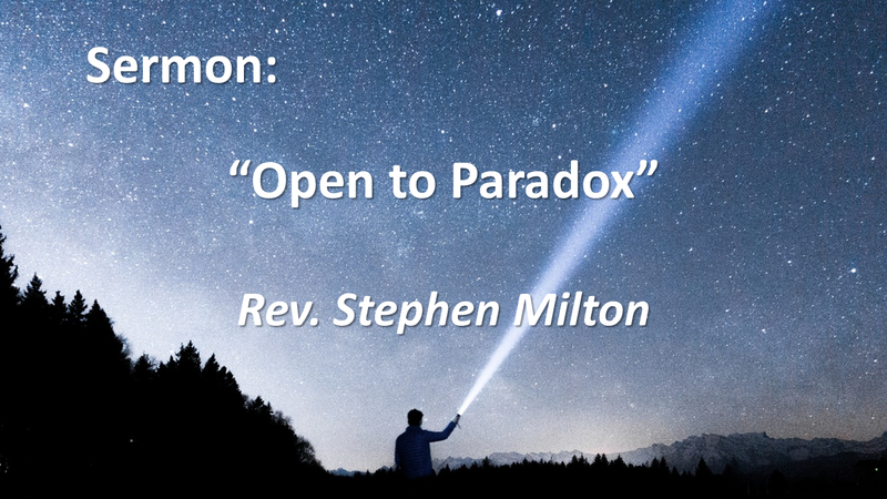 Open to Paradox