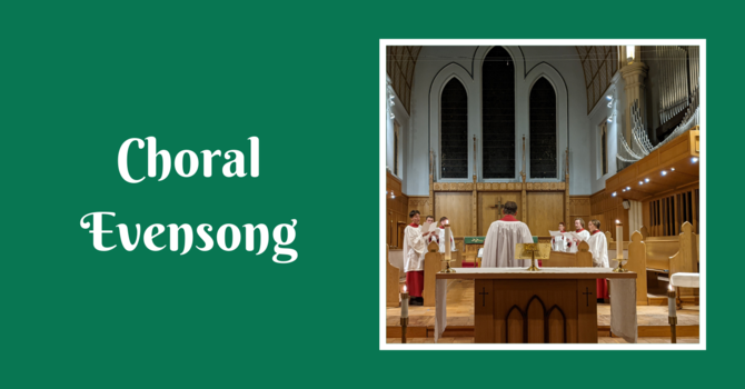 Choral Evensong - January 24, 2021 image