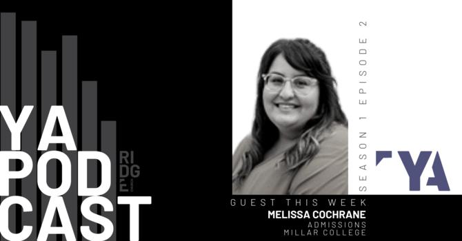 YA Podcast   Guest: Melissa Cochrane