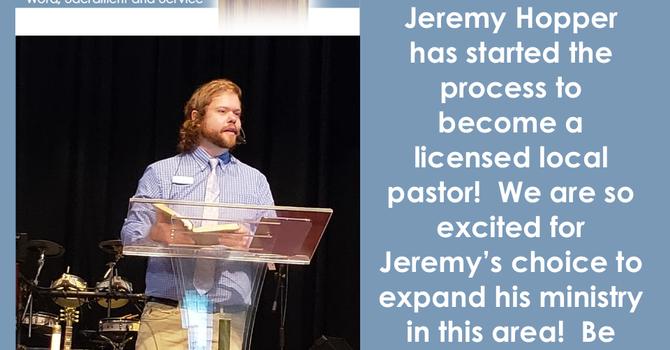 Congratulations Jeremy Hopper!