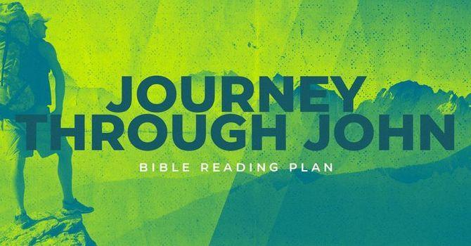 Journey through John Bible reading plan image