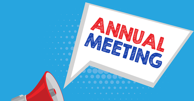 Annual Meeting Coming up image