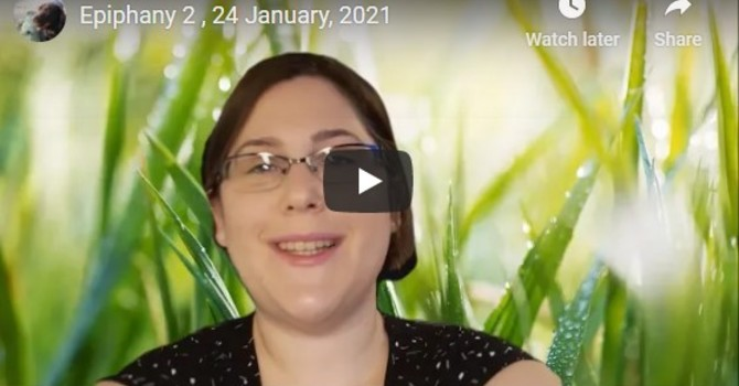 Leslie Flynn's sermon - January 24, 2021 image