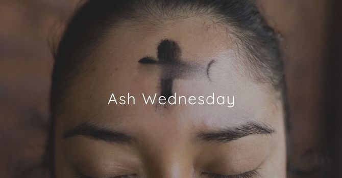 Covid-Safe Ash Wednesday  image