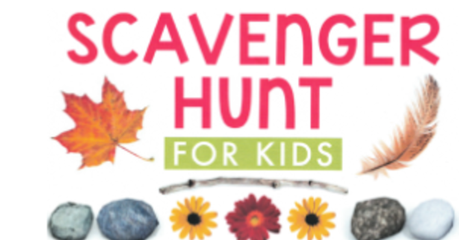 Scavenger Hunt for kids image
