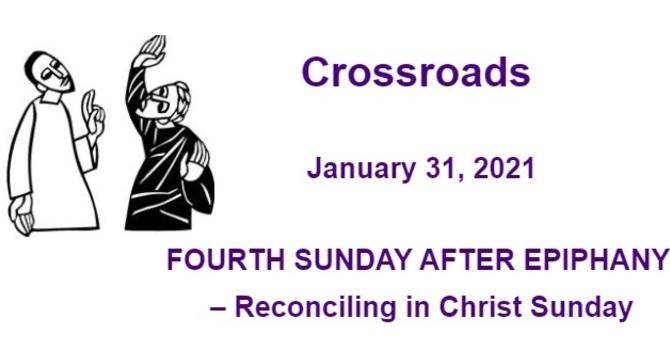 Crossroads January 31, 2021 image