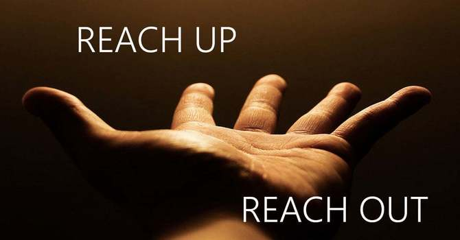 Reaching Up! Reaching Out! image