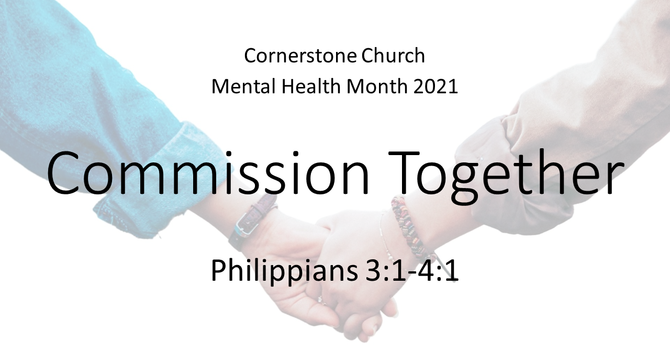 Mental Health Month: Commission Together
