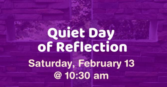 Pre-Lenten Quiet Day image