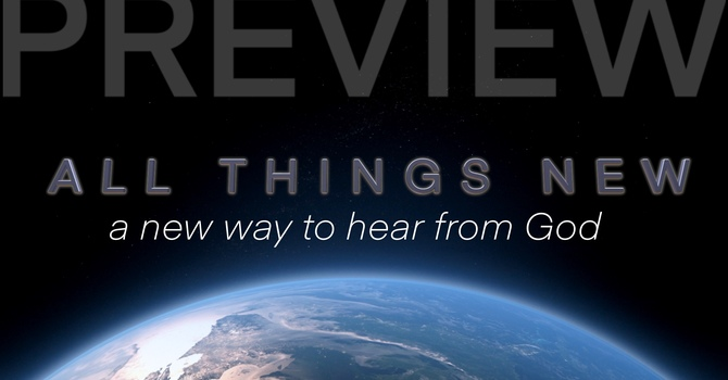 Preview: A New Way to Hear from God image