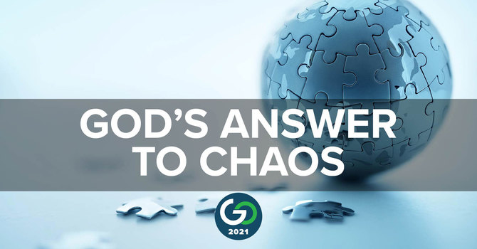 Session 3: Dr. Faisal Malick | God's Answer To Chaos