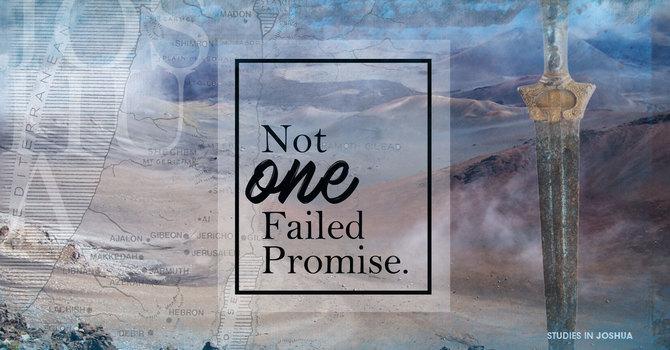 Not One Failed Promise | Joshua 21:43-45