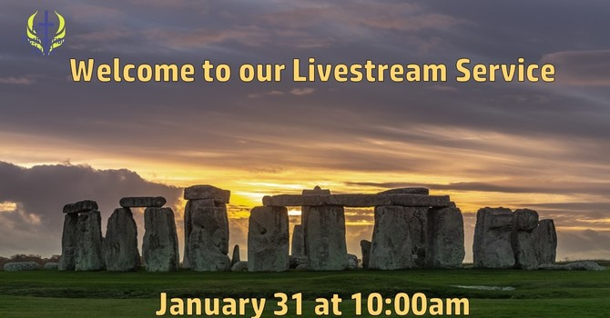Sunday January 31 Livestream Service