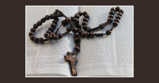 Pray the Rosary via Zoom