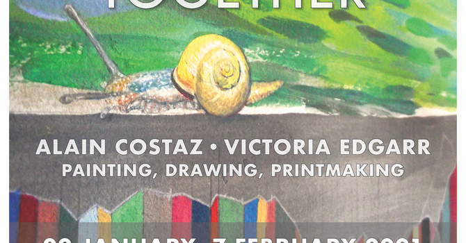 Conversation with artists Alain Costaz and Victoria Edgarr     image