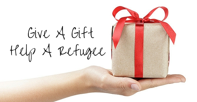 Give A Gift.  Support A Refugee. image