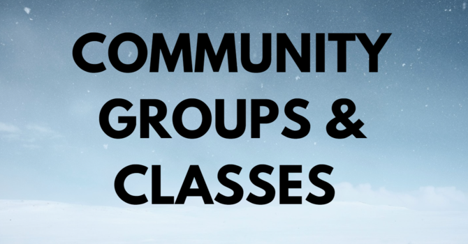 COMMUNITY GROUPS AND CLASSES image