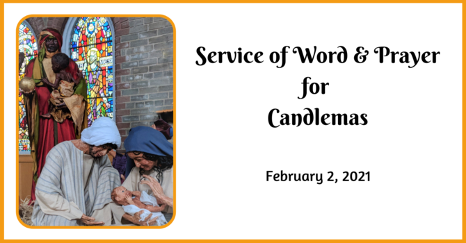 Service of Word and Prayer for Candlemas image