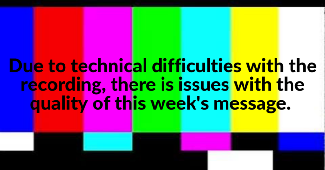 SUNDAY 31st JAN LIVESTREAM OUTAGE image
