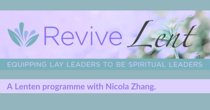 Revive Lent image