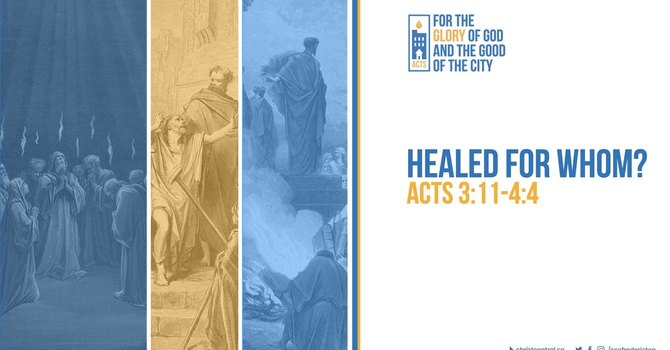 Healed For Whom?