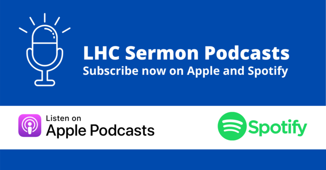 Subscribe to Sermon Podcasts image