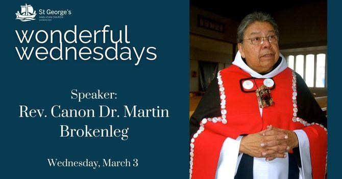 Wonderful Wednesdays: Martin Brokenleg