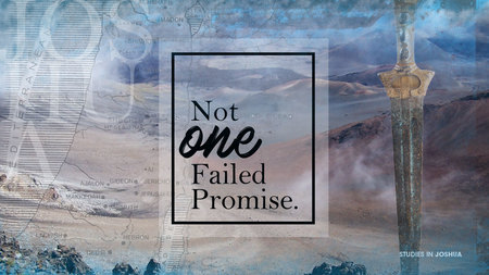 Not One Failed Promise