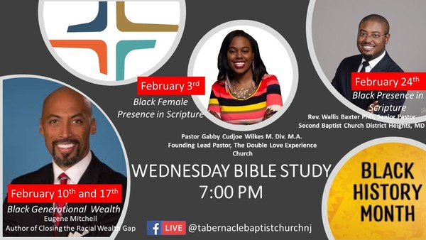 Black History Month Bible Study Series