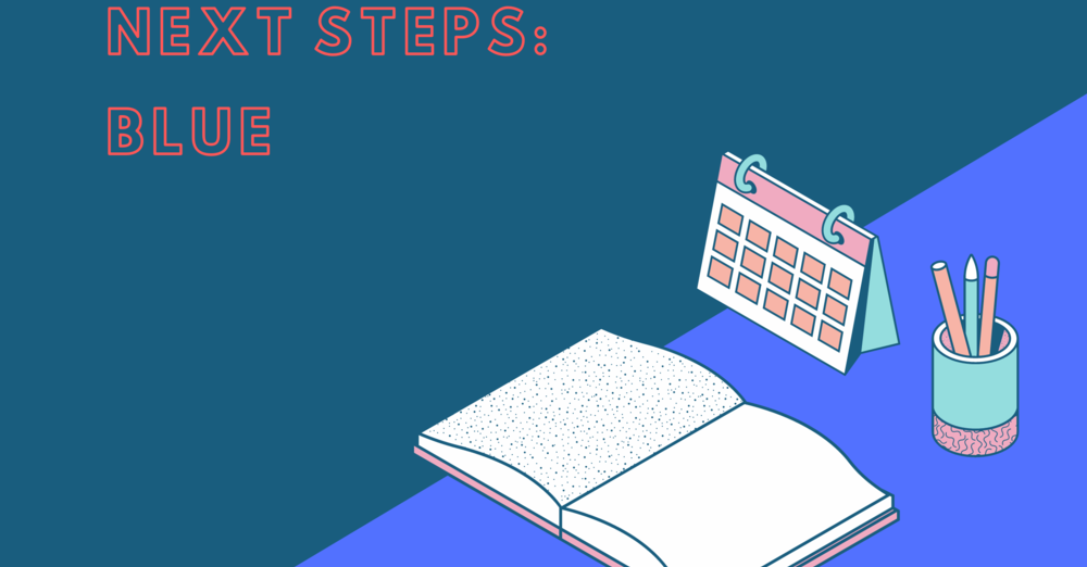 Next Steps Blue