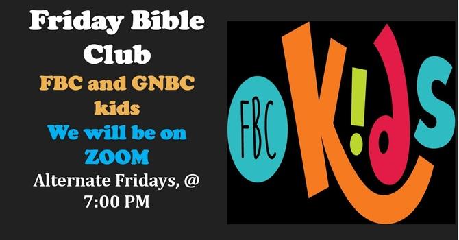 Friday Bible Club