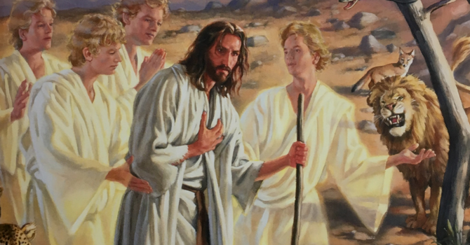 But Now a Champion Comes to Fight — Lent 1