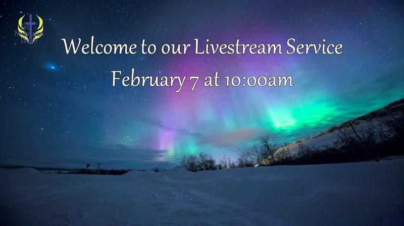 Sunday February Livestream service