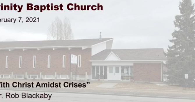 With God Amidst Crises