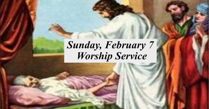 Sunday, February 7 Worship Service image