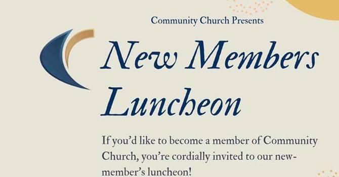 New Member Luncheon