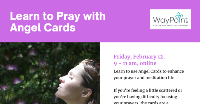 Angel Cards and Prayer image