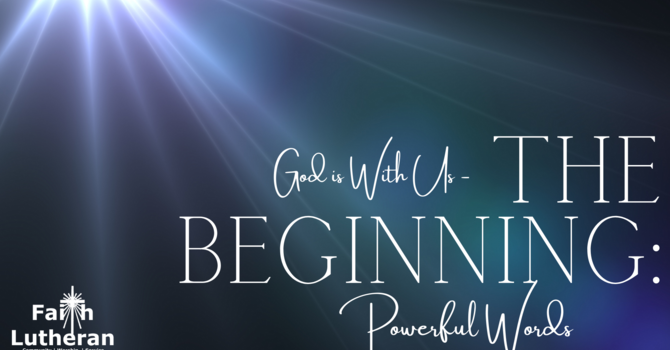 God is With Us - The Beginning
