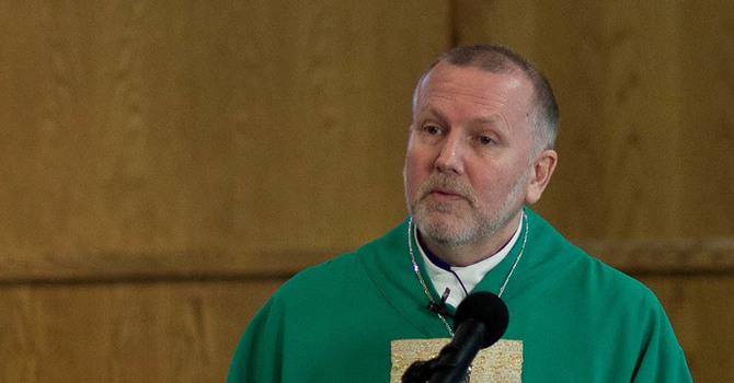 Bishop John Stephens at All Saints', Ladner image