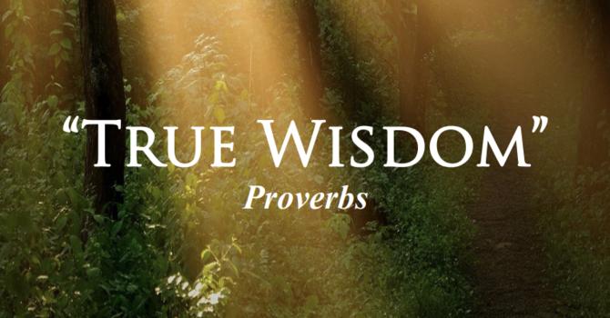 "Poets Week 4: ""True Wisdom"""