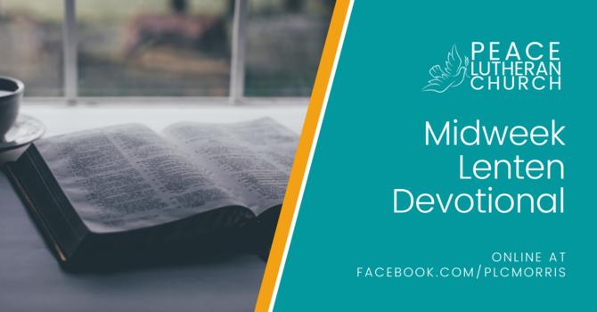 Midweek Lenten Devotional