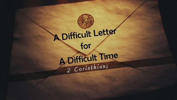 A Difficult Letter for a Difficult Time