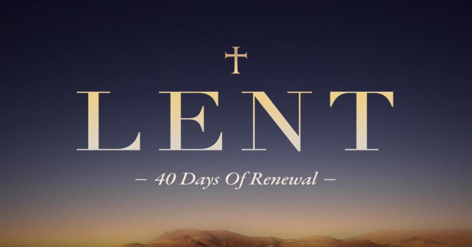 Season Of Lent 2021 image