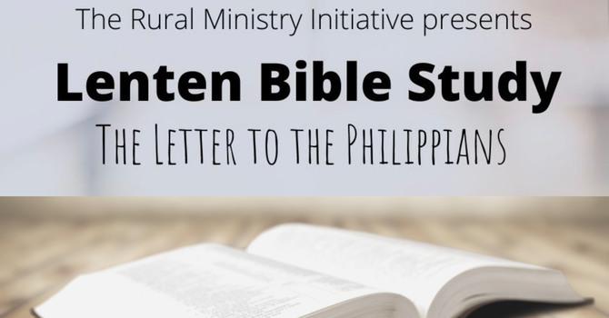 Rural Ministry Lenten Bible Study image