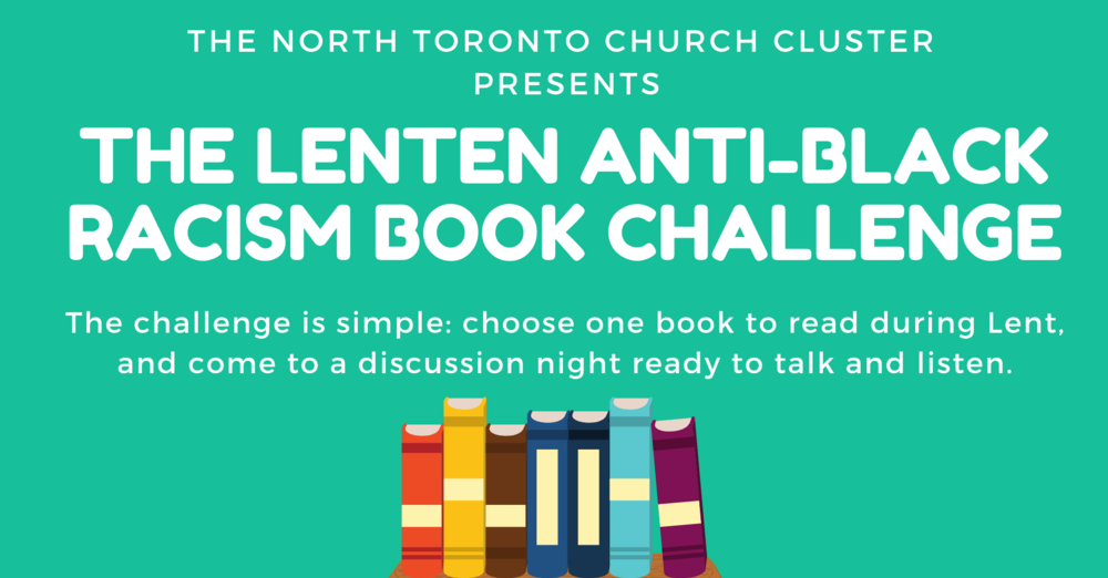 Information for The Lenten Anti-Black Racism Book Challenge