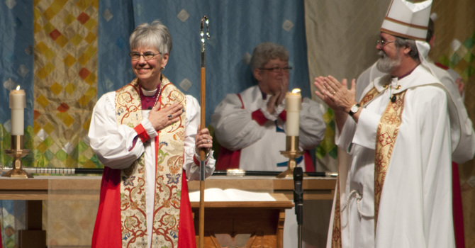 Welcome to the Right Reverend Melissa M Skelton, Bishop of New Westminster image